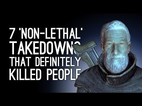 7 'Non-Lethal' Takedowns That Definitely Killed People