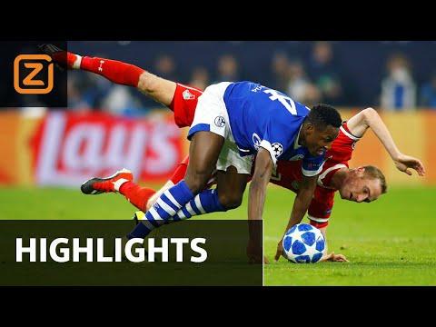 Schalke 04  Vs Lokomotiv Moskou | Champions League 2018/19 | Samenvatting