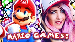 MARIO ROBLOX GAMES?!