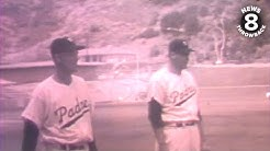 Minor league San Diego Padres play at Lane Field, footage from 1954-1958