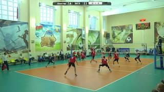 Волейбол. Шахтер - БАТЭ-БГУФК (22.09.2017)