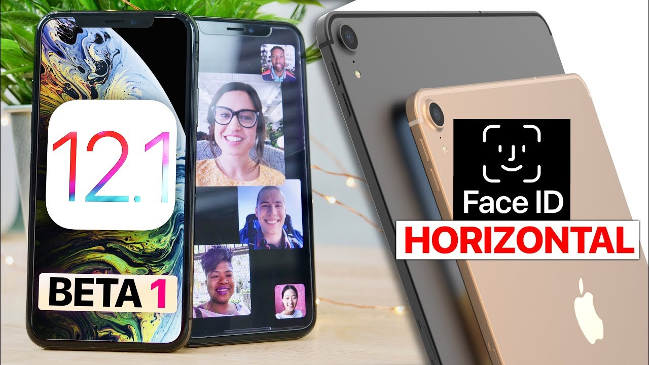 iOS 12.1 Beta 1! Group FaceTime & Secret Features Leak!