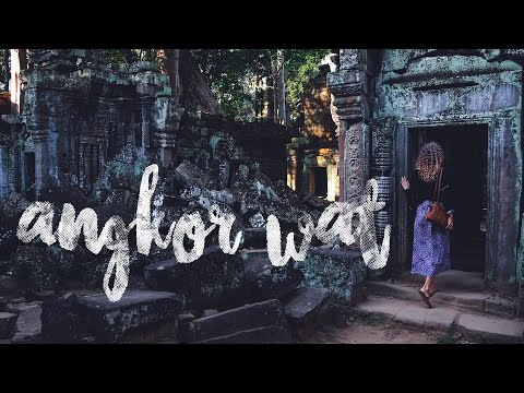 ANGKOR WAT Travel Guide - Where to go / Tomb Raider Temple / Cambodia / world trip heylilahey