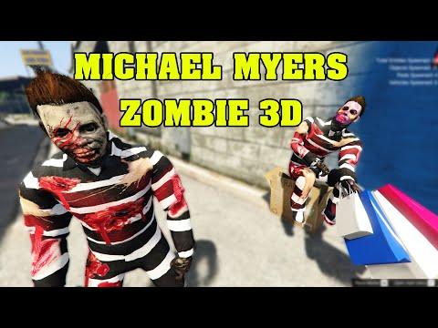 GTA 5 - Michael Myers Zombie 3D - Niềm Vui Thầm Kín Của Chụy Nè Mấy Cưng     GHTG