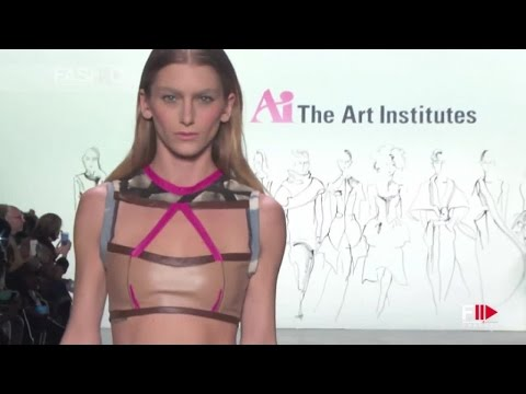 THE ART INSTITUTES Full Show Fall 2016 New York Fashion Week by Fashion Channel