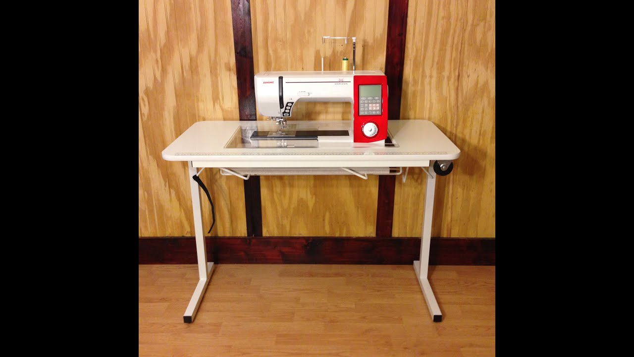 How To Set Up Your Affordable Sewing Table   YouTube
