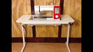 How to Set Up Your Affordable Sewing Table