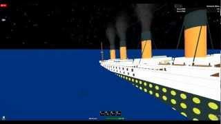 roblox titanic sinking film part 1