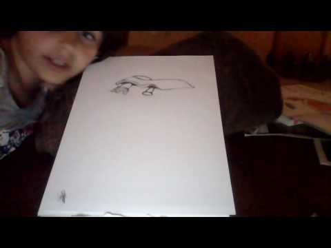 How to draw a flying car