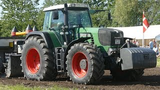 Fendt 830, 930, 933, 936 & 939 Vario Pulling The Heavy Sledge To The Limit | Tractor Pulling Denmark