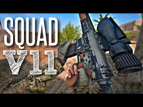 NEW SNIPER! - Squad V11 Gameplay ( British Army, New Weapons, Warrior APC )