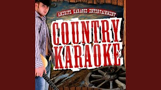 Put Yourself in My Shoes (In the Style of Clint Black) (Karaoke Version)
