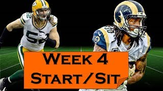 Fantasy Football 2018 Start 'em sit 'em Week-4