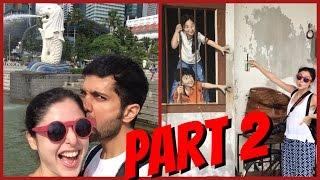 Summer Cruise Vlog || Part 2 || Penang To Singapore!!!!