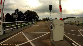Groningen to Appingedam (Tolweg Tjuchem-Hogewerflaan Appingedam) 27-08-18 Part 4/4