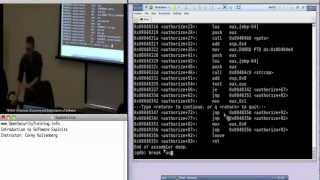 Day 1 Part 4: Exploits1: Introduction to Software Exploits
