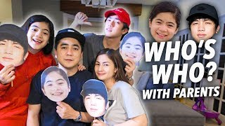 WHO'S MOST LIKELY TO?! WITH PARENTS | Ranz and Niana