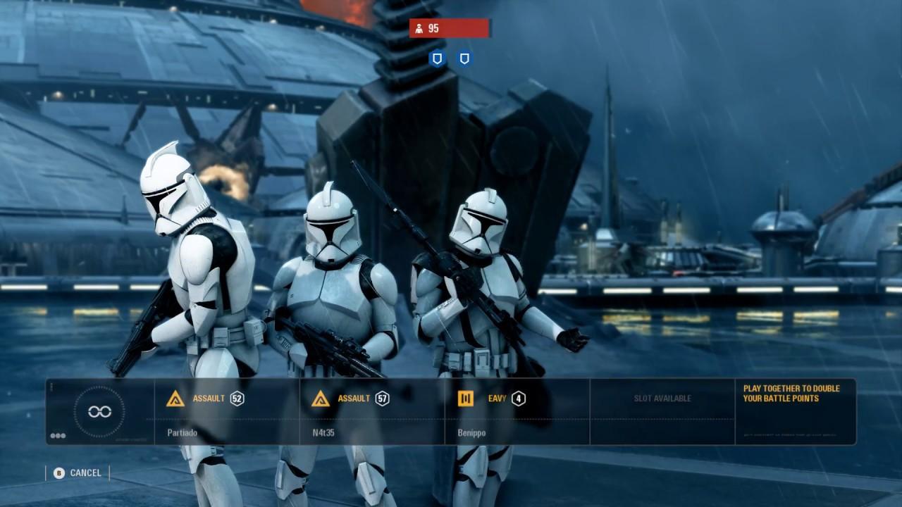 phase 1 clones defend kamino star wars battlefront 2 youtube