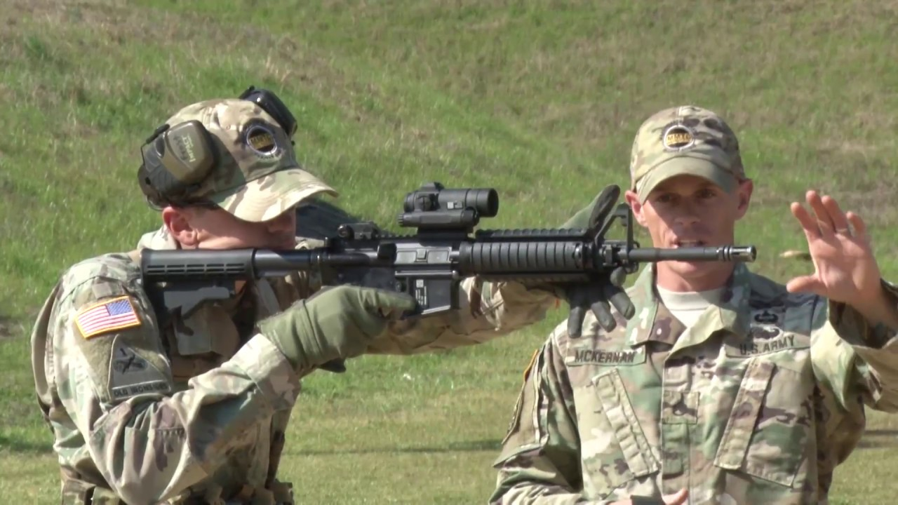 1-29 Infantry Conducts Marksmanship Master Trainer Course at Fort Benning