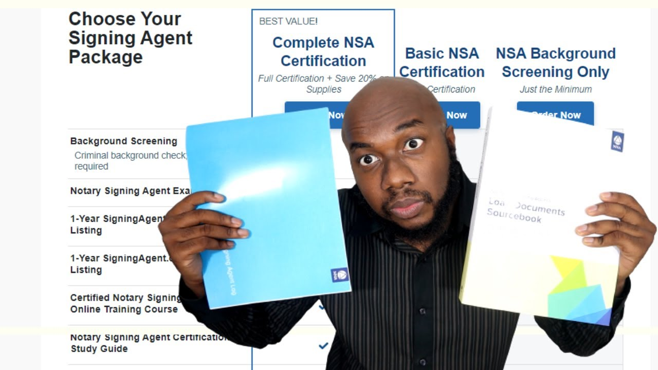 Download What's included in the NSA COMPLETE CERTIFICATION package by the NNA   Signing Agent Process