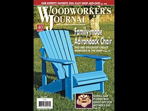 Woodworker's Journal - May/June 2016 Issue Preview