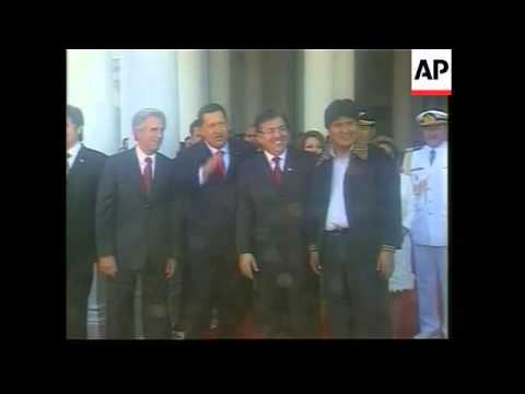Update on meeting of South American presidents