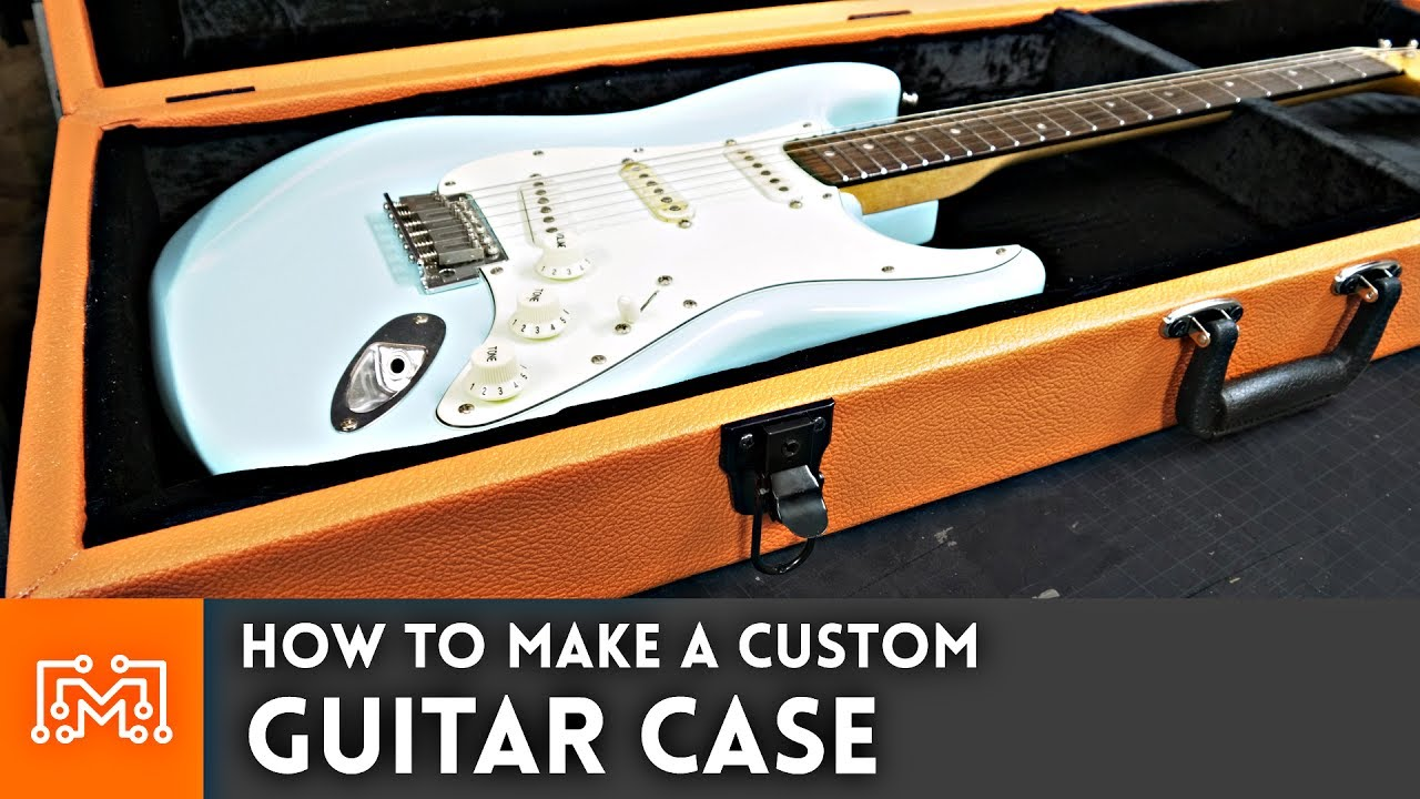 how to make a guitar case woodworking youtube. Black Bedroom Furniture Sets. Home Design Ideas