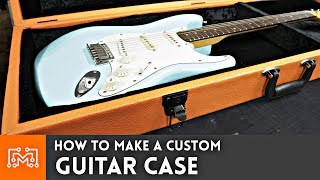 How to make a Guitar Case // Woodworking