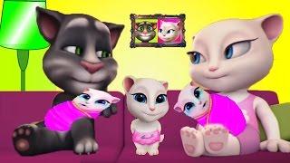 МОЯ ГОВОРЯЩАЯ АНДЖЕЛА #175 Говорящий Том и друзья Мультик про котиков Мульт ИГРА # УШАСТИК KIDS