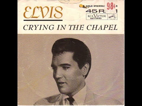 Elvis Presley ~ Crying In The Chapel  (Takes 2 & 3)