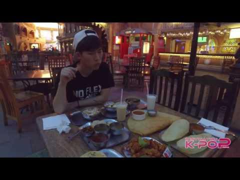 "K-Pop Idol ""DABIT"" Tries Out Indian Street Food"