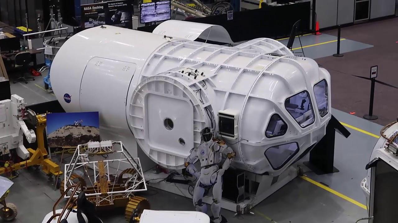 nasa johnson space center history - 1280×720