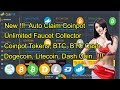 New  !!! Auto Claim Coinpot Unlimited Faucet Collector