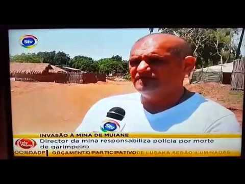 Mozambique mine invaded by illegal miners