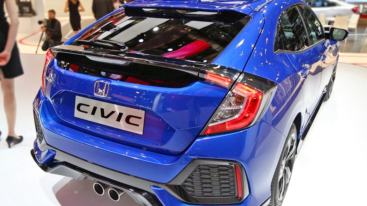 NEW 2017 Honda CIVIC Hatchback - Interior And Exterior Walkaround YouTube  R