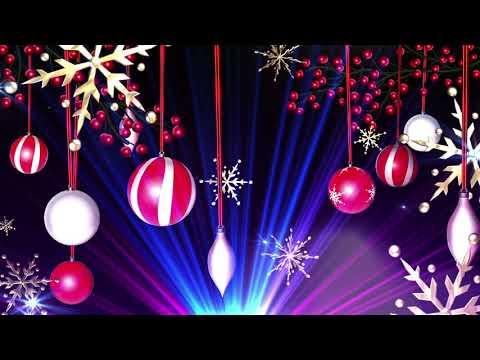 Новогодний футаж для фона и поздравлений