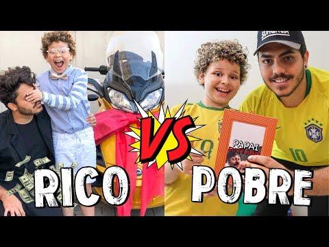 RICO VS POBRE NO DIA DOS PAIS - Isaac do VINE