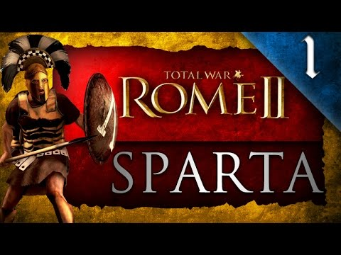 Total War: Rome II: Divide et Impera: Sparta Campaign Ep. 1 - WAR WITH ATHENS!