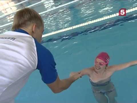Как научить детей плавать видео