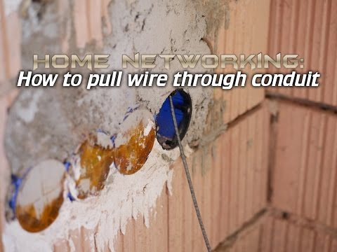Home Networking: How To Run Cable Through Walls
