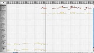 Как чистить голос в Melodyne - Black Eyed Peas The Time