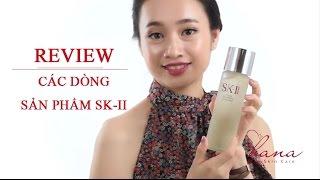 BẠN PHÙ HỢP VỚI DÒNG SẢN PHẨM NÀO CỦA SK-II? (Review)