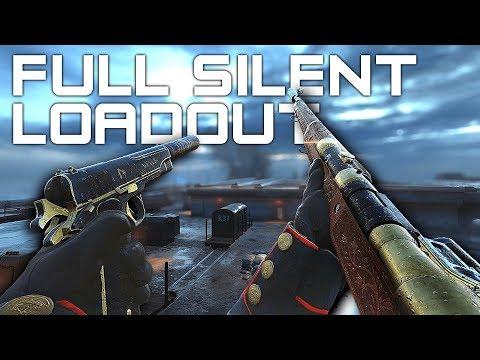 COMPLETE SILENT CLASS! Silenced M1911 Pistol + Silenced M1917 Sniper