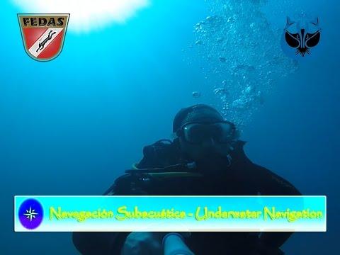 Curso Navegación Subacuática - Underwater Navigation Course.
