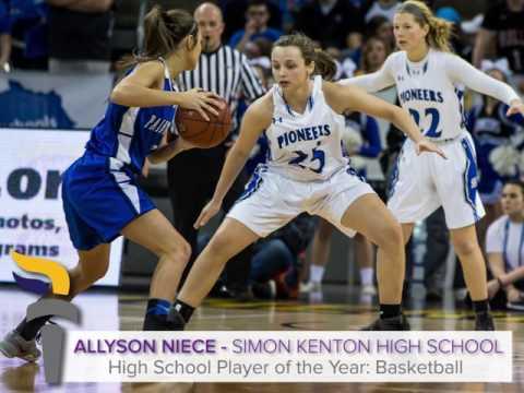 Ally Niece, Simon Kenton High School, 2017 High School Player of the Year in Basketball