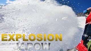 Japan Powder Snowboarding in LOTTE ARAI RESORT スノーボード動画