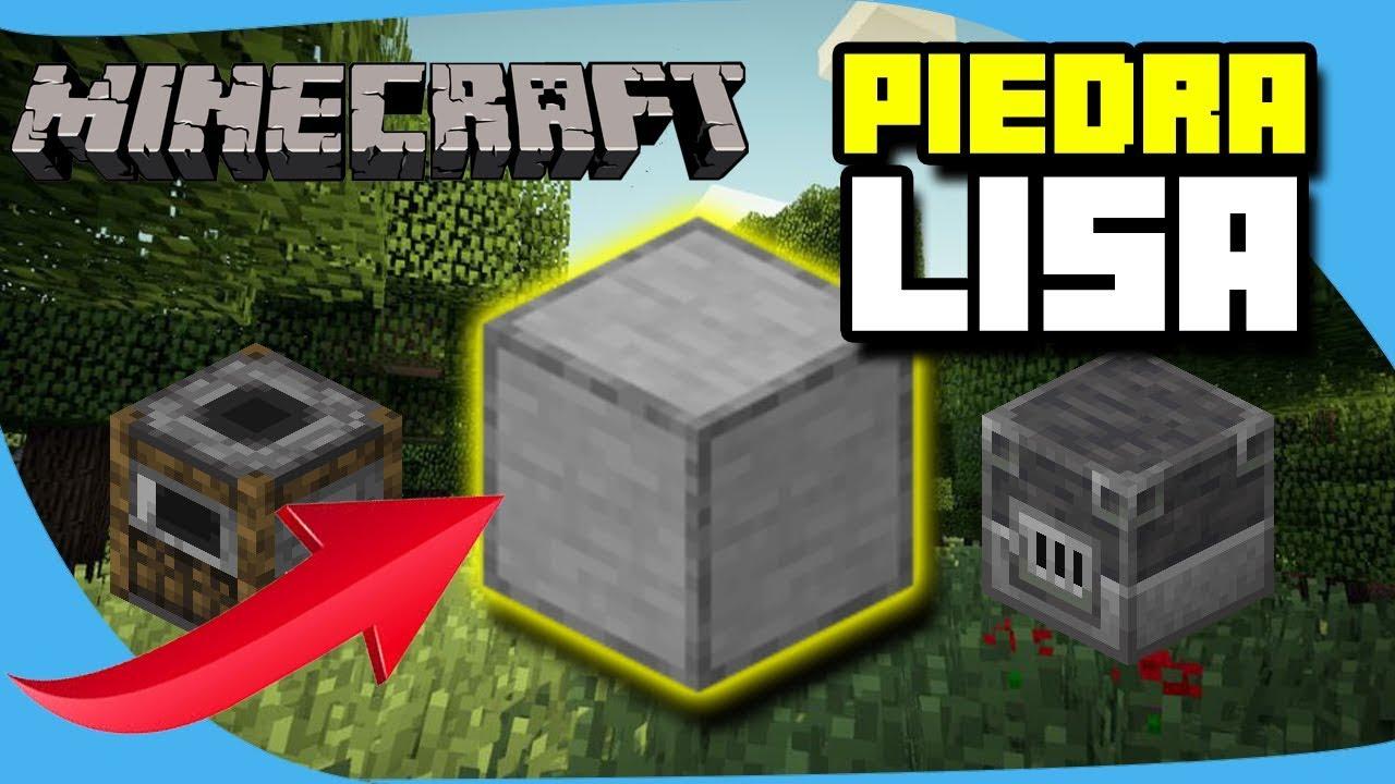 Como Hacer Piedra Lisa En Minecraft