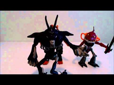 Action Figure Review: Rahzar, Fishface, And TigerClaw!