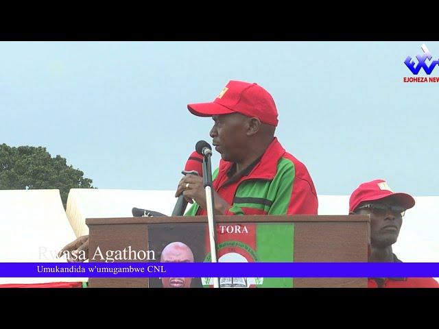 #EjohezaNews: Kurikirana ubutumwa bwa Agathon Rwasa yatangiye mu ntara ya  Mwaro