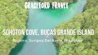 Travel Destination: SOHOTON COVE, BUCAS GRANDE ISLAND | PHILIPPINES | Drone Shot - GraceFord Travel